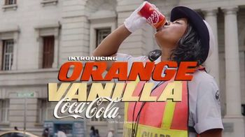 Orange Vanilla Coca-Cola TV Spot, 'USA Network: Unlikely Duo: The Rock 'n' Sock Connection' - Thumbnail 1