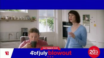 Overstock.com 4th of July Blowout TV Spot, 'Table Runner' - Thumbnail 2