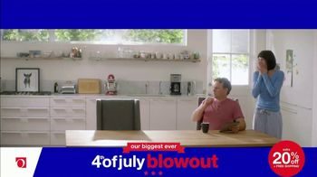 Overstock.com 4th of July Blowout TV Spot, 'Table Runner' - Thumbnail 4