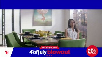 Overstock.com 4th of July Blowout TV Spot, 'Table Runner' - Thumbnail 5
