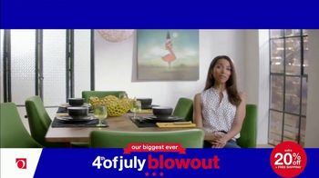 Overstock.com 4th of July Blowout TV Spot, 'Table Runner' - Thumbnail 6