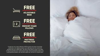 Mattress Firm 4th of July Sale TV Spot, 'Free, Free, Free Event' - Thumbnail 2