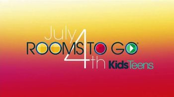 Rooms to Go Kids & Teens TV Spot, 'July 4th Hot Buys: Complete Twin Panel Bed' - Thumbnail 2