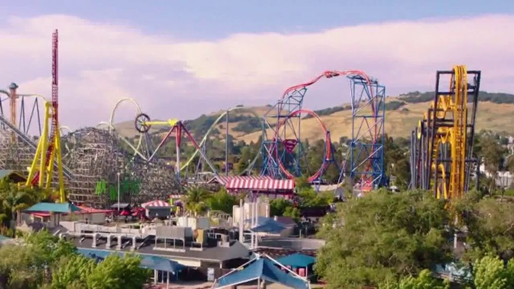 Six Flags Discovery Kingdom TV Commercial, 'Batman: The Ride' - Video