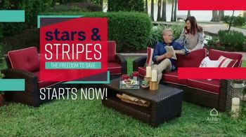 Ashley HomeStore Stars & Stripes Event TV Spot, 'Reclining Sofa' Song by Midnight Riot - Thumbnail 2