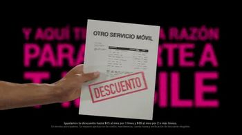 T-Mobile Unlimited TV Spot, 'Otra razón: datos y textos ilimitados' [Spanish] - Thumbnail 2