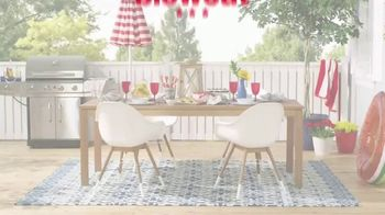 Overstock.com 4th of July Blowout TV Spot, 'Home Decor and Area Rugs' - Thumbnail 1