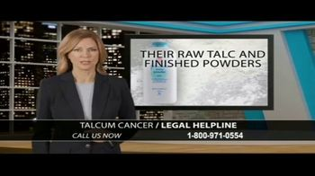 Arnold & Itkin LLP TV Spot, 'Talcum Cancer Legal Helpline' - Thumbnail 4