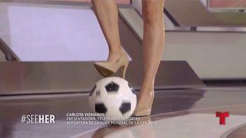 L'Oreal Paris TV Spot, 'Telemundo Deportes: See Her' con Carlota Vizmanos [Spanish] - Thumbnail 2