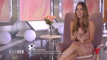 L'Oreal Paris TV Spot, 'Telemundo Deportes: See Her' con Carlota Vizmanos [Spanish] - Thumbnail 4