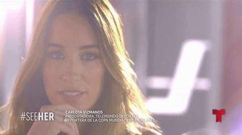 L'Oreal Paris TV Spot, 'Telemundo Deportes: See Her' con Carlota Vizmanos [Spanish] - Thumbnail 5