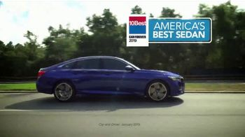 2019 Honda Accord TV Spot, 'What Are You Waiting For' [T2] - Thumbnail 3