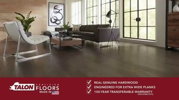 Talon Hardwood Flooring TV Spot, 'Genuine Hardwood: 20 Percent Off'