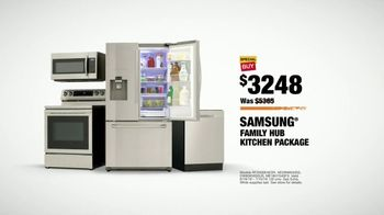 The Home Depot TV Spot, 'Fuel Your Team: Samsung Family Hub Kitchen' - Thumbnail 9