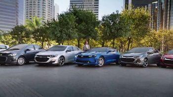 Chevrolet TV Spot, 'Seven Great Cars' [T2] - 162 commercial airings