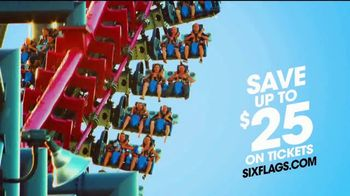 Six Flags TV Spot, \'Find Your Thrill: X2\'