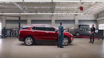 2019 Chevrolet Equinox TV Spot, 'Collision Shop' [T2] - 1273 commercial airings
