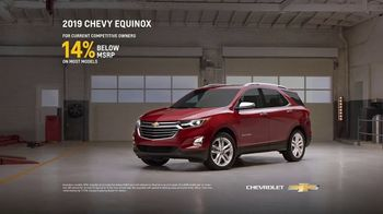 2019 Chevrolet Equinox TV Spot, 'Collision Shop' [T2] - Thumbnail 8