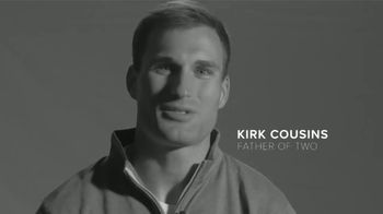 CBN TV Spot, 'Father's Day Cling' Featuring Kirk Cousins - Thumbnail 1