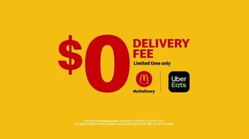 McDonald's McDelivery TV Spot, 'We Deliver Happy: $0 Delivery' - Thumbnail 10