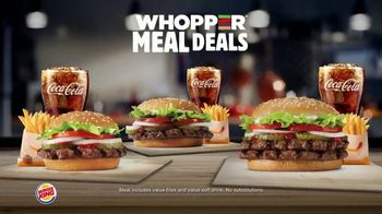 Burger King Whopper Meal Deal TV Spot, 'Mix or Match'