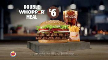 Burger King Whopper Meal Deal TV Spot, 'Mix or Match' - Thumbnail 5