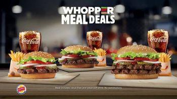 Burger King Whopper Meal Deal TV Spot, 'Mix or Match'