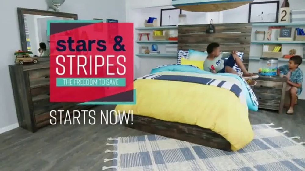 Ashley Homestore Stars Stripes Event Tv Commercial Sectional Queen Bed And Dining Table Video