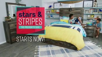 Ashley HomeStore Stars & Stripes Event TV Spot, 'Sectional, Queen Bed and Dining Table' - Thumbnail 2