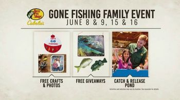 Bass Pro Shops Father's Day Sale TV Spot, 'Gone Fishing Family Event' - Thumbnail 4