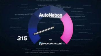 AutoNation July 4th Savings TV Spot, 'Reputation Score: 2019 Nissan Models' - Thumbnail 1