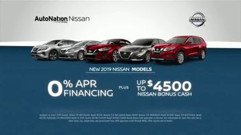 AutoNation July 4th Savings TV Spot, 'Reputation Score: 2019 Nissan Models' - Thumbnail 6