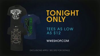 WWE Shop TV Spot, 'Come One, Come All: Superstar Tees' Song by SATV Music - 5 commercial airings