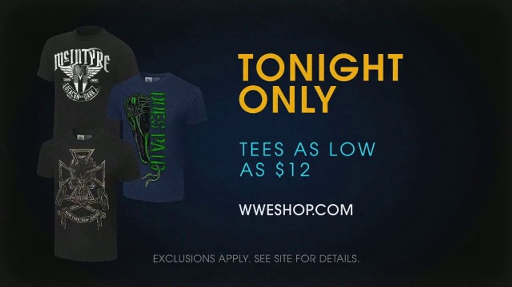 WWE Shop TV Commercial, 'Come One, Come All: Superstar Tees' Song by SATV Music