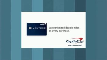 Capital One Venture Card TV Spot, 'HGTV: Double Duty Furniture' - Thumbnail 10