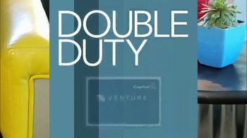 Capital One Venture Card TV Spot, 'HGTV: Double Duty Furniture' - Thumbnail 2