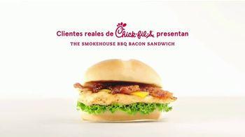 Chick-fil-A Smokehouse BBQ Bacon Sandwich TV Spot, 'Las pequeñas cosas' [Spanish]