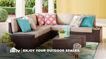 Wayfair TV Spot, 'HGTV: Enjoy Your Outdoor Spaces' - Thumbnail 1