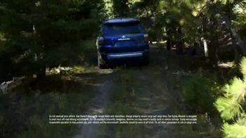 Toyota 4Runner TV Spot, 'Keep It Wild' [T1] - Thumbnail 5