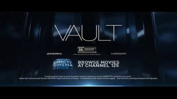 DIRECTV Cinema TV Spot, 'Vault' - Thumbnail 10