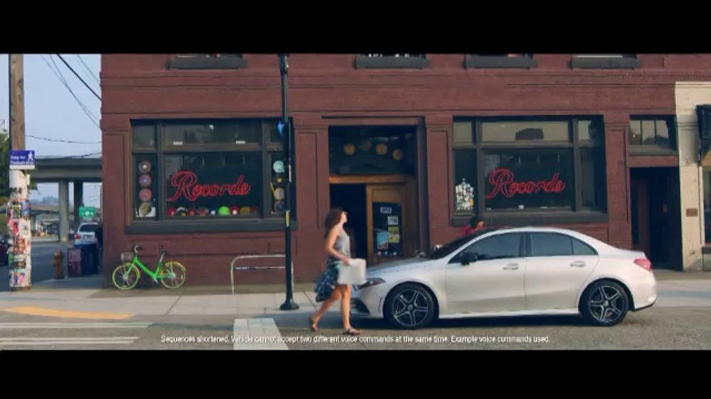 Mercedes Of Seattle >> Mercedes Benz A Class Tv Commercial Welcome To Seattle Intelligent Voice Control T2 Video