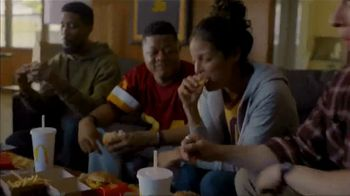 McDonald's + Uber Eats TV Spot, 'McDelivery Doorbell: $0 Delivery Fee' Song by Della Reese - Thumbnail 8