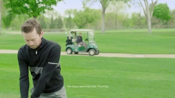 2nd Swing TV Spot, 'Letting Go of Clubs'