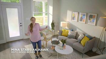 Levolor TV Spot, 'HGTV: Twice as Inviting' Featuring Mina Starsiak Hawk - Thumbnail 1