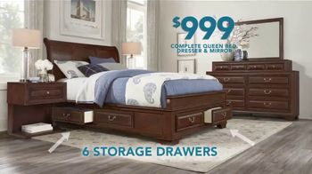 Rooms to Go TV Spot, 'Labor Day: 5-Piece Bedroom' - Thumbnail 3