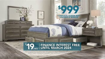 Rooms to Go TV Spot, 'Labor Day: 5-Piece Bedroom' - Thumbnail 4