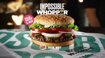 Burger King Impossible Whopper TV Spot, 'No lo vas a creer' [Spanish] - Thumbnail 8