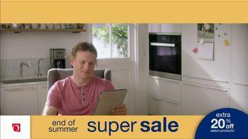 Overstock.com End of Summer Super Sale TV Spot, 'Table Runner: 20 Percent' - Thumbnail 1