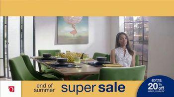 Overstock.com End of Summer Super Sale TV Spot, 'Table Runner: 20 Percent' - Thumbnail 5