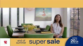 Overstock.com End of Summer Super Sale TV Spot, 'Table Runner: 20 Percent' - Thumbnail 6